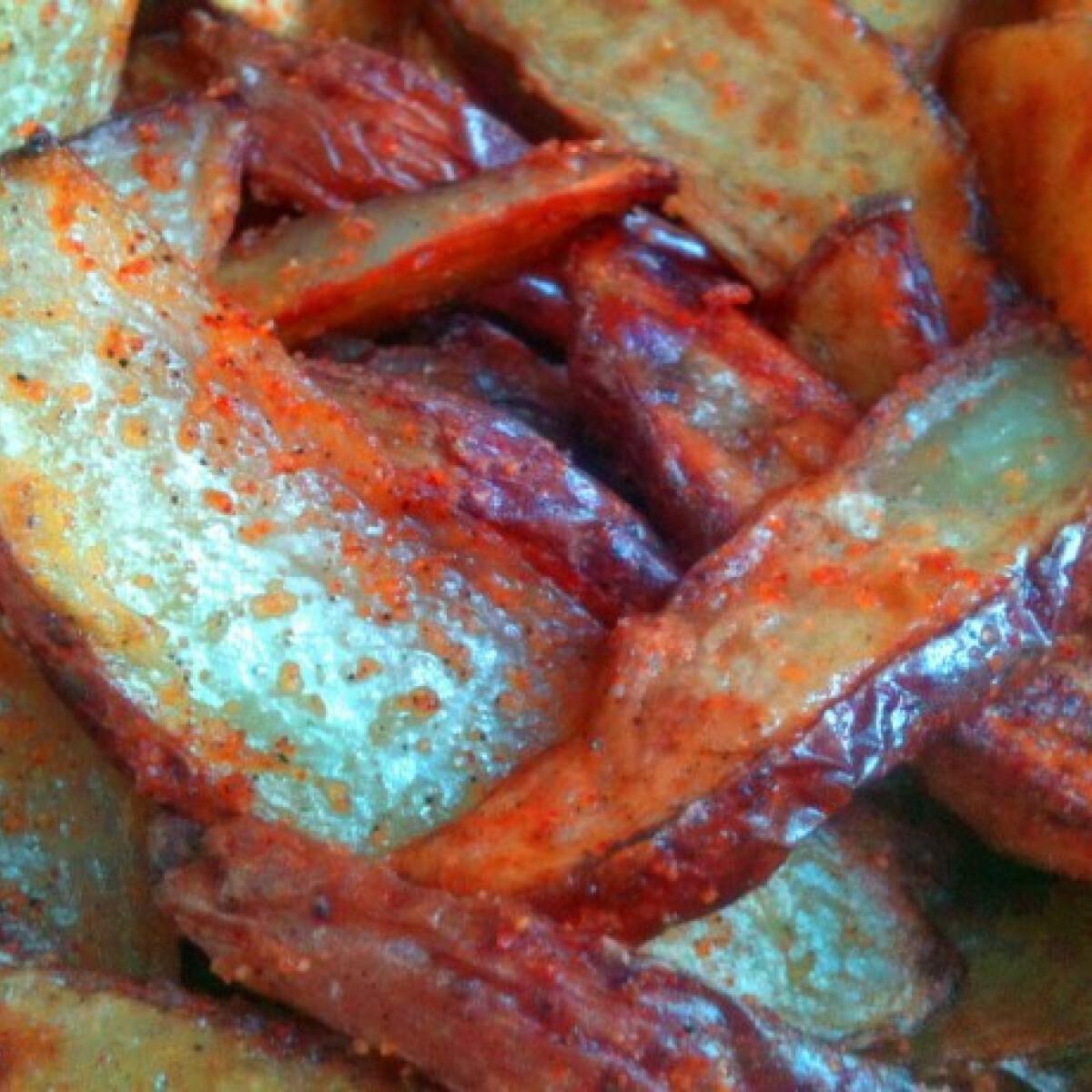 Ezen a képen: Sült krumpli DoGGma konyhájából