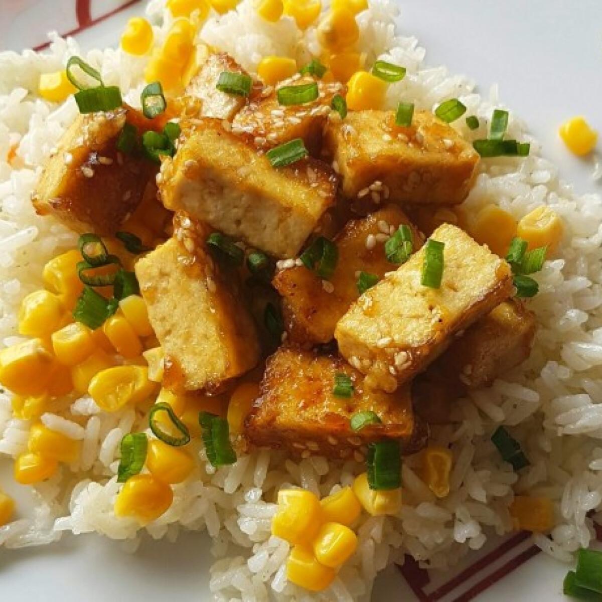Ezen a képen: Teriyaki tofu