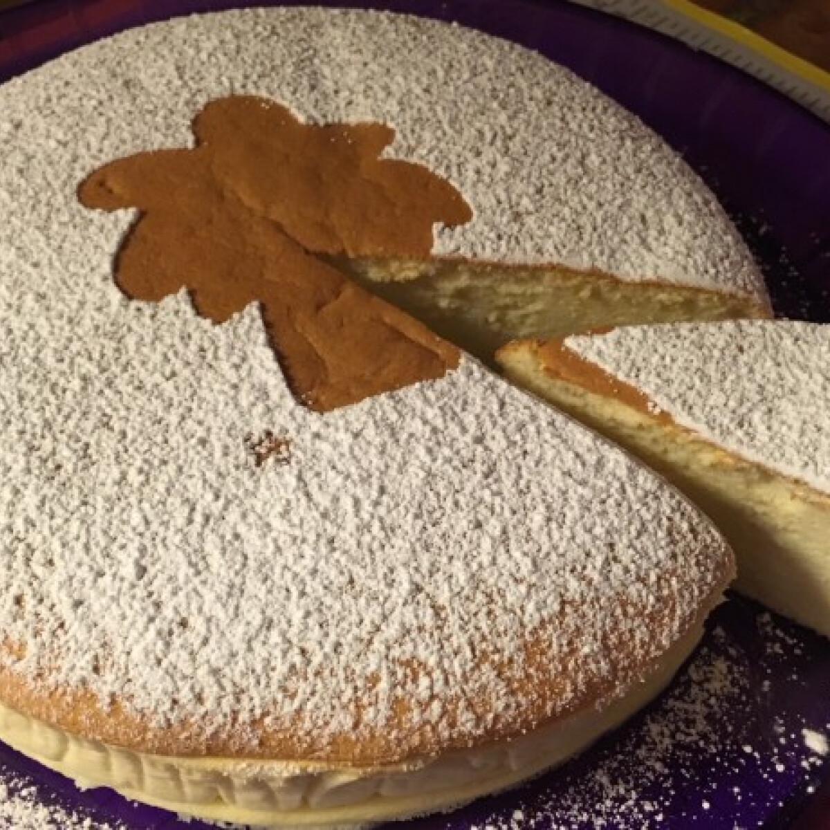 Japán sajttorta - castella torta