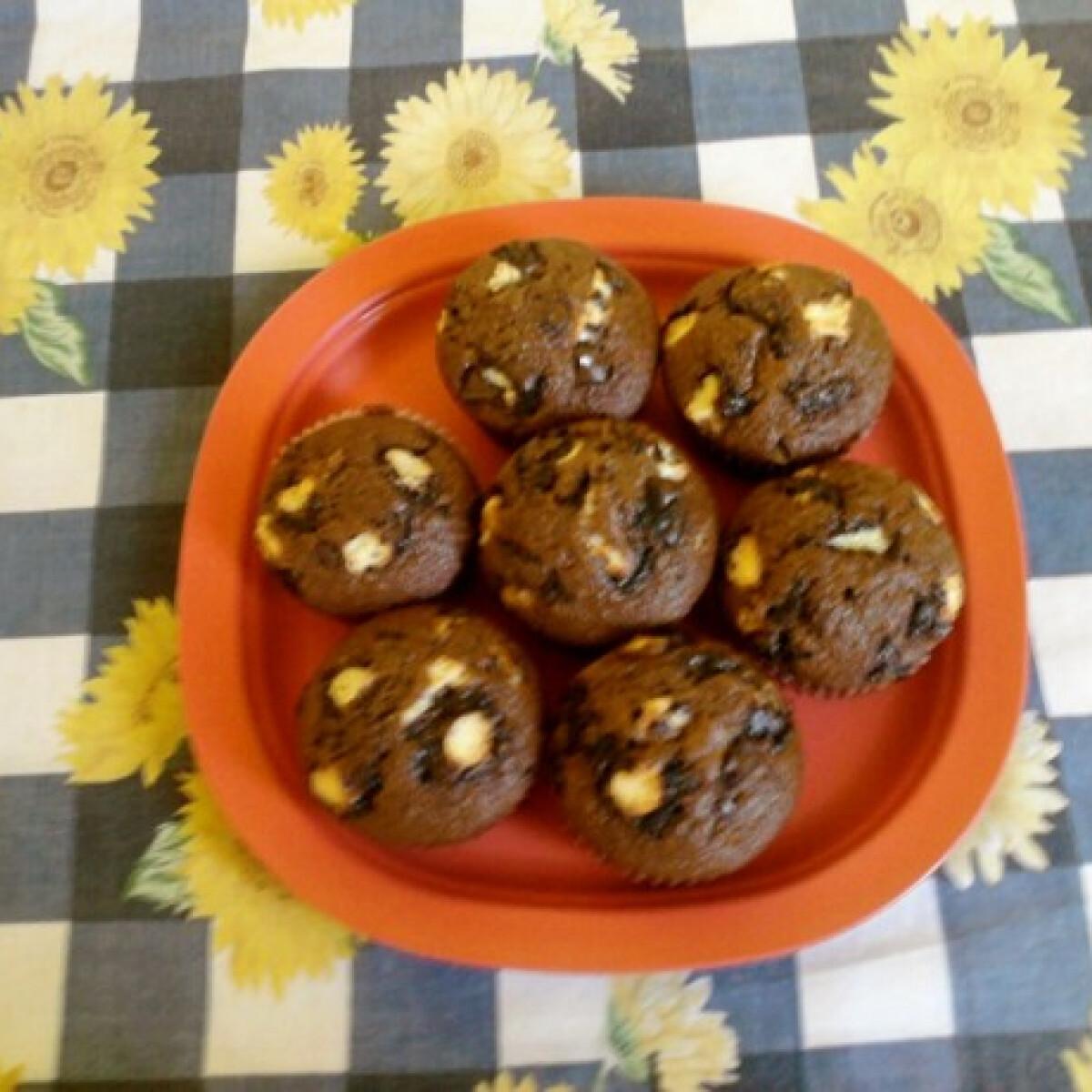 Ezen a képen: Túró rudis muffin Süti konyhájából