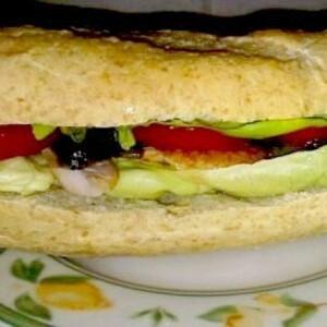 Extra csirkés-gombás szendvics
