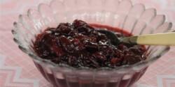 Cseresznye-meggy dzsem