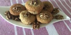 Laktózmentes diós muffin