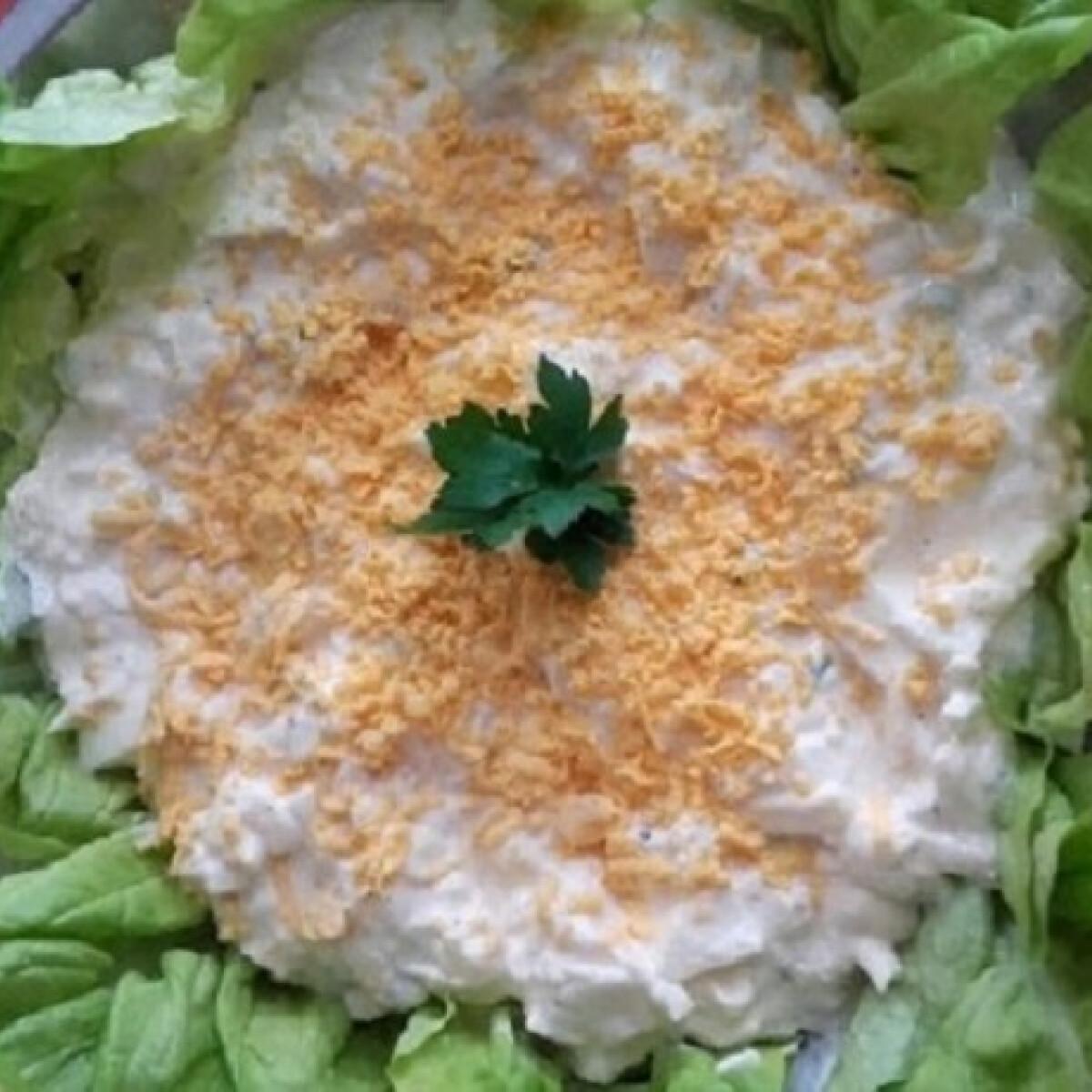 Ezen a képen: Mimóza saláta