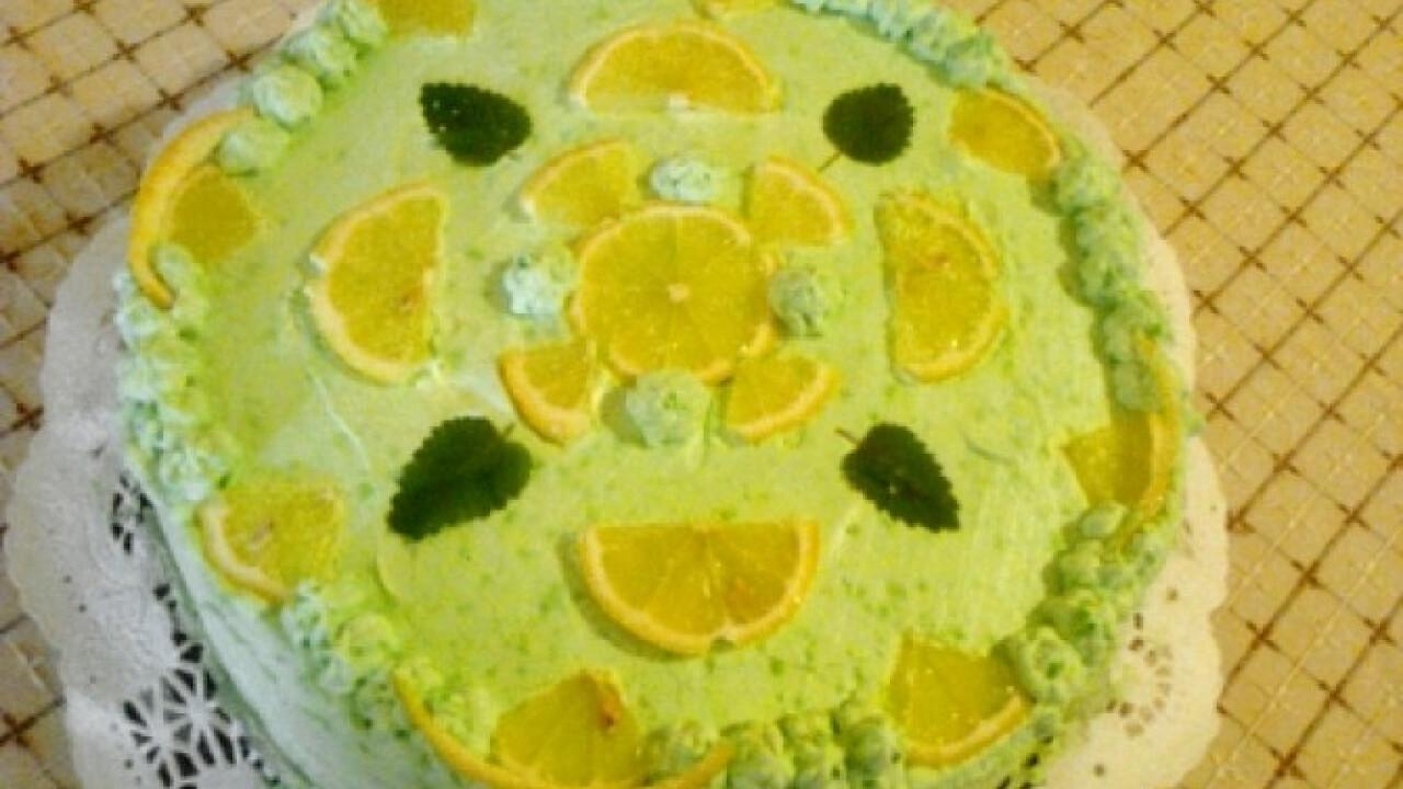 Citromos torta ahogy Dézi készíti