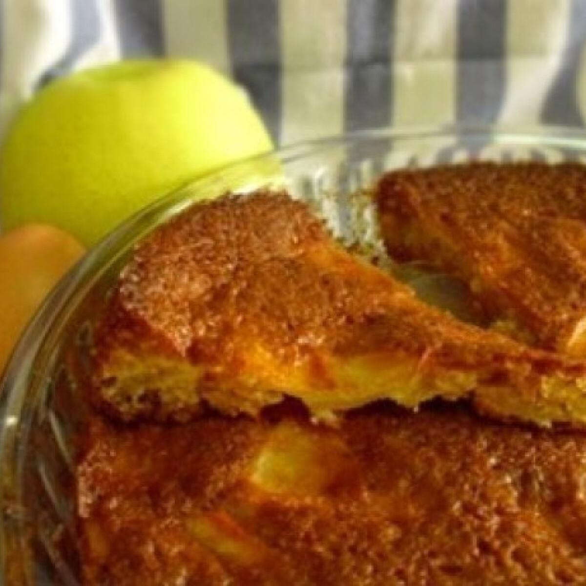 Ezen a képen: Gyors almás - gluténmentes