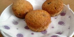 Diós-fahéjas-mazsolás muffin