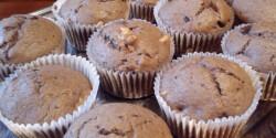 Csokis-diós muffin Anettől