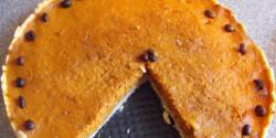 Diós-kekszes sütőtökpite