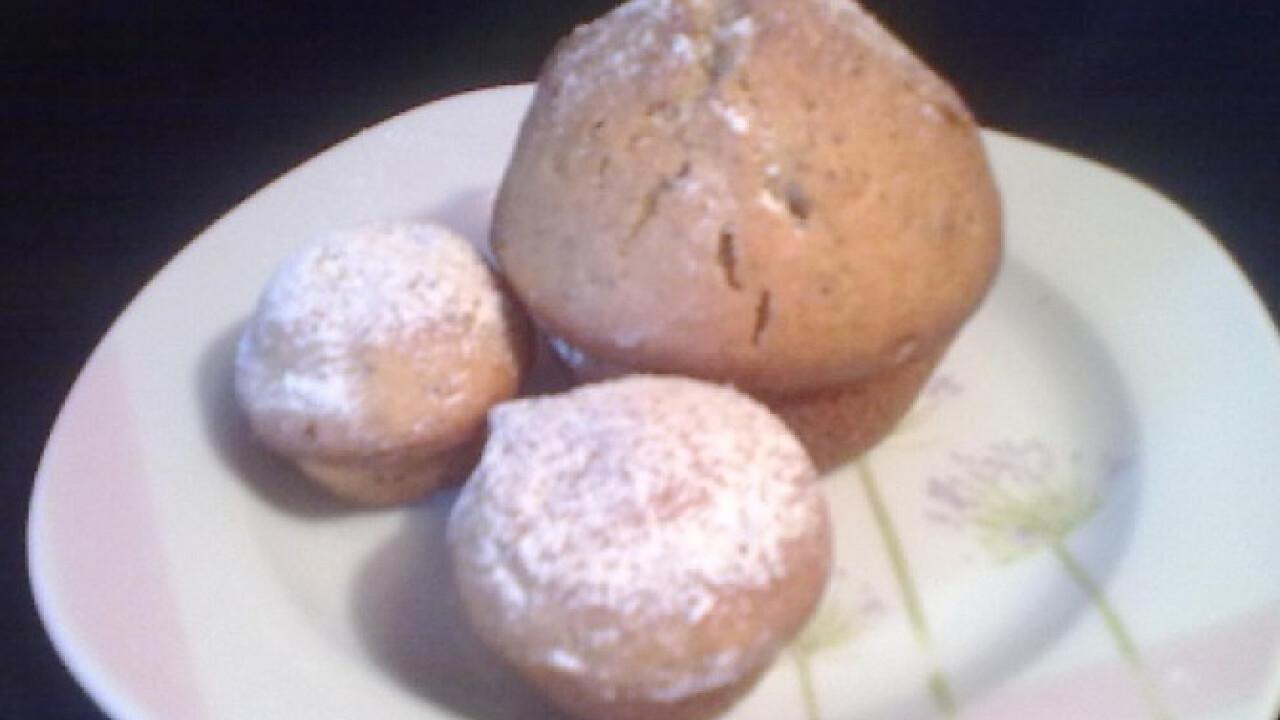Citromos-mákos muffin Nikitől