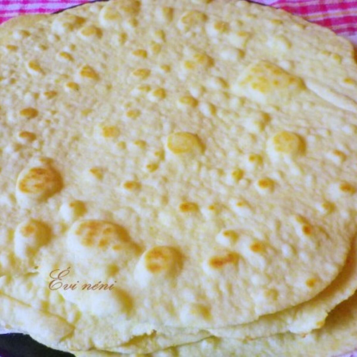 Ezen a képen: Tortilla lap Évi nénitől