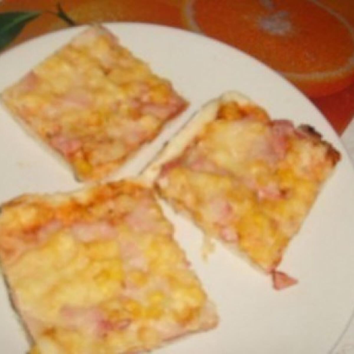 Pizzatészta 8.- 10 perces