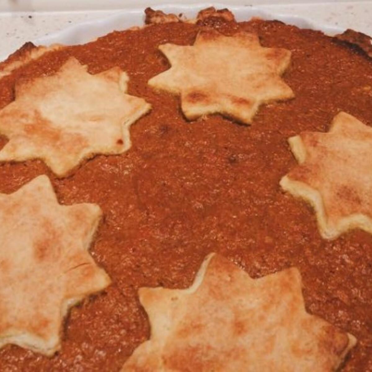 Ezen a képen: Sütőtökös pite Vanilina konyhájából