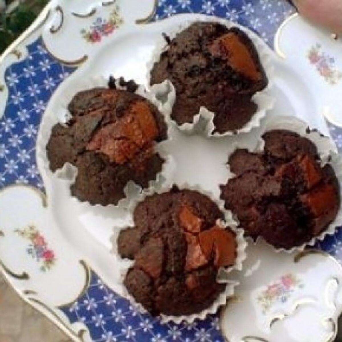 Ezen a képen: Csokis muffin egyszerűen