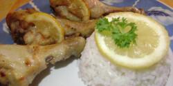 Citromos-chilis csirke