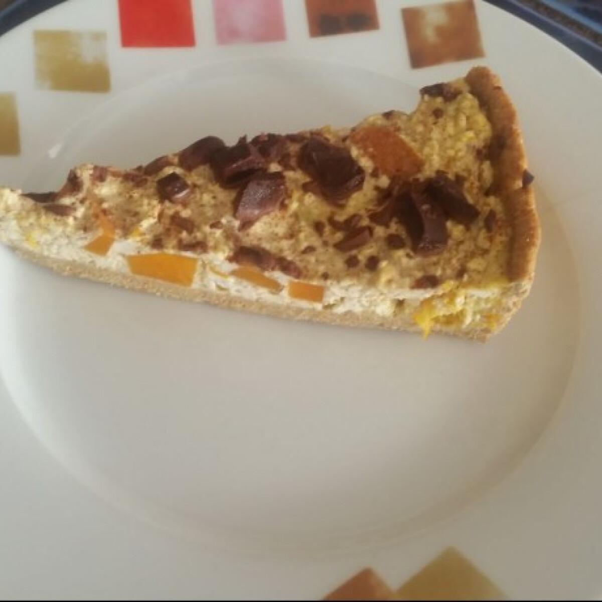 Sütőtökös-túrós pite