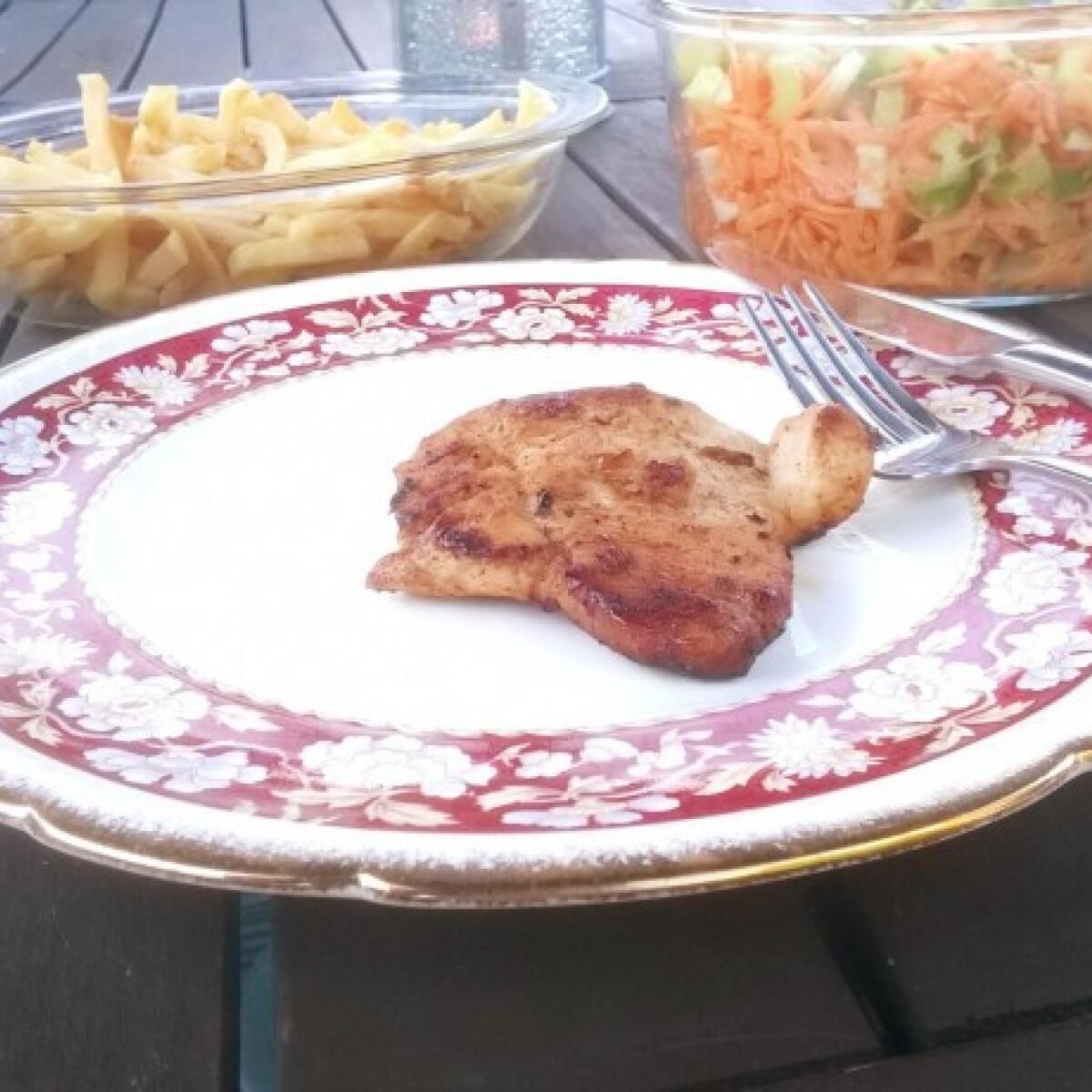Ezen a képen: Grillezett pulyka szelet