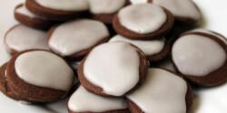 Cukormázas kakaós keksz