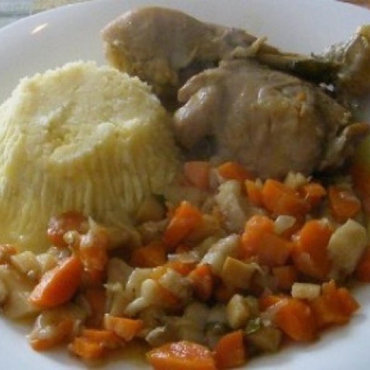 Zöldséges hús