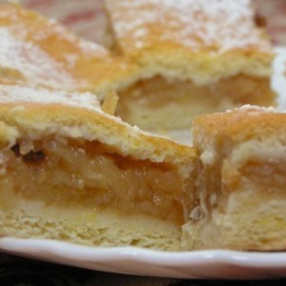 Ezen a képen: Almás pite