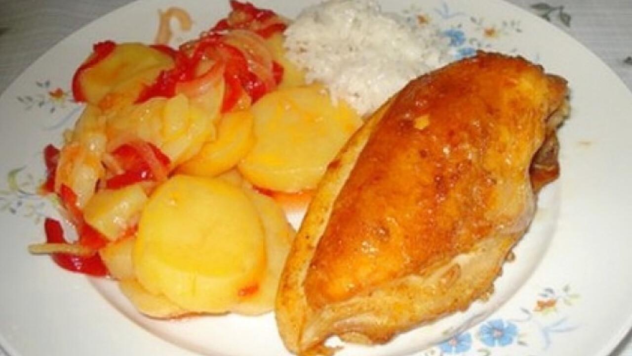 Krumplisaláta Detty konyhájából