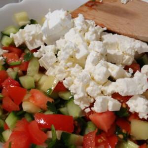 Sopszka saláta Konyha Tünditől
