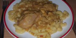 Tejfölös csirkepaprikás