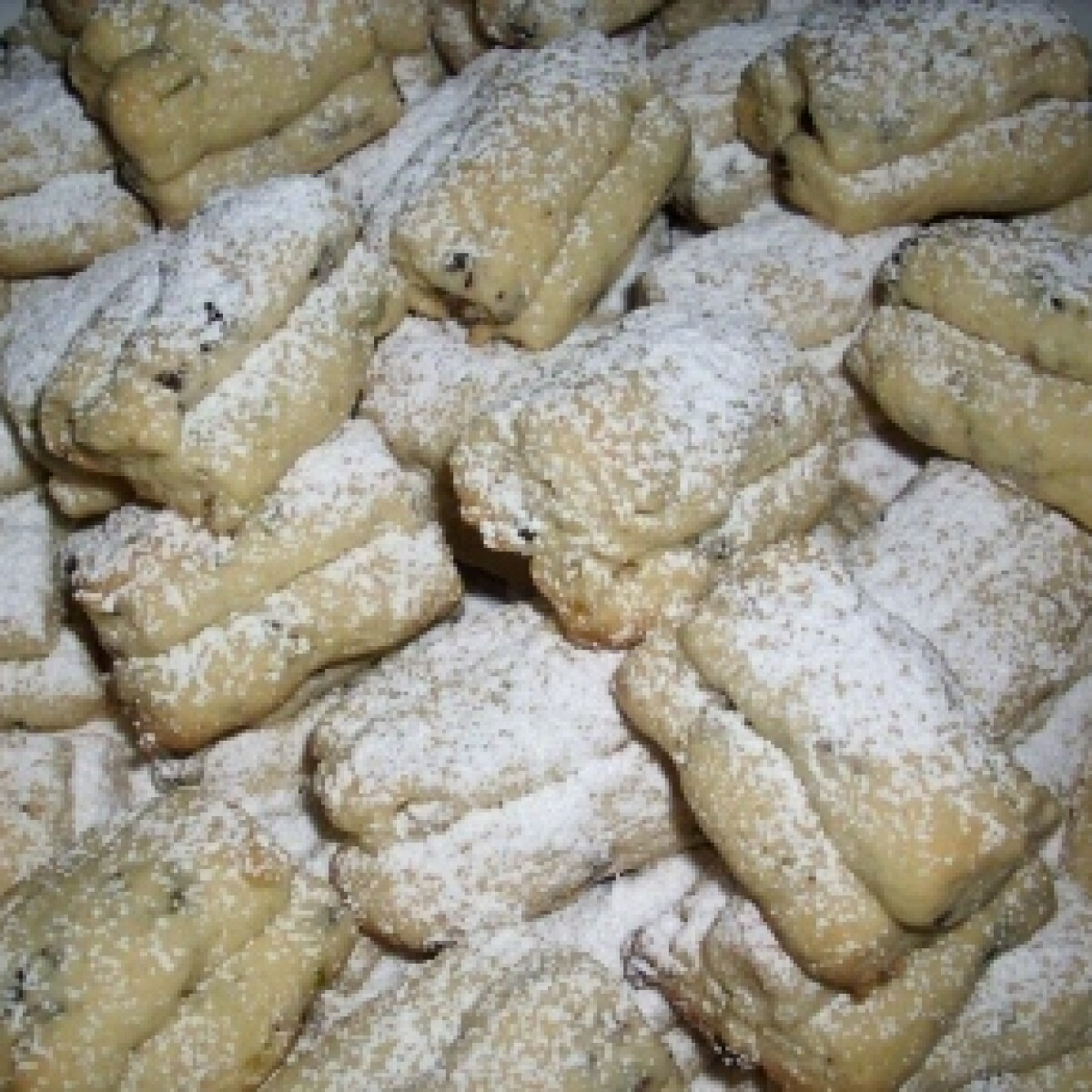 Ezen a képen: Mini-Stollen (német karácsonyi sütemény)