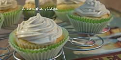 Szilvás cupcake