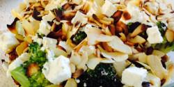 Fetás brokkolisaláta