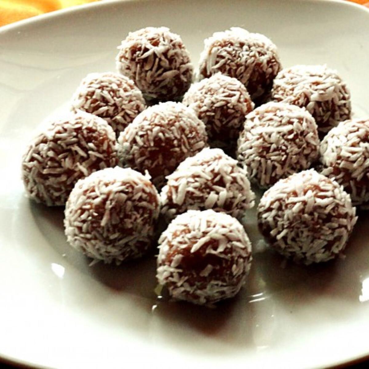 Kókuszos kekszgolyók Glasertől