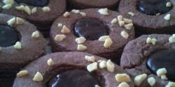 Csokoládés linzer extrákkal
