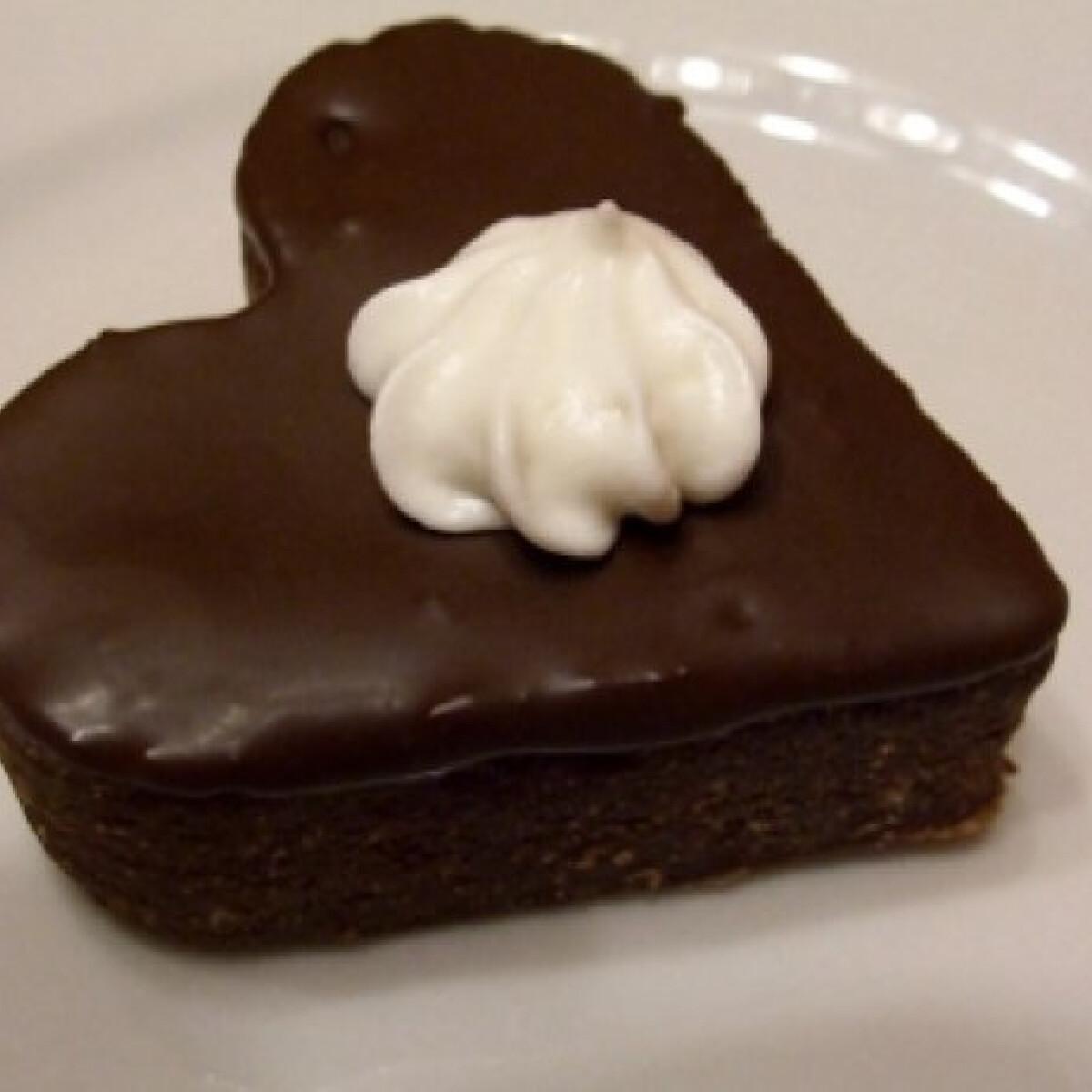 Ezen a képen: Rumos-csokis kekszszív