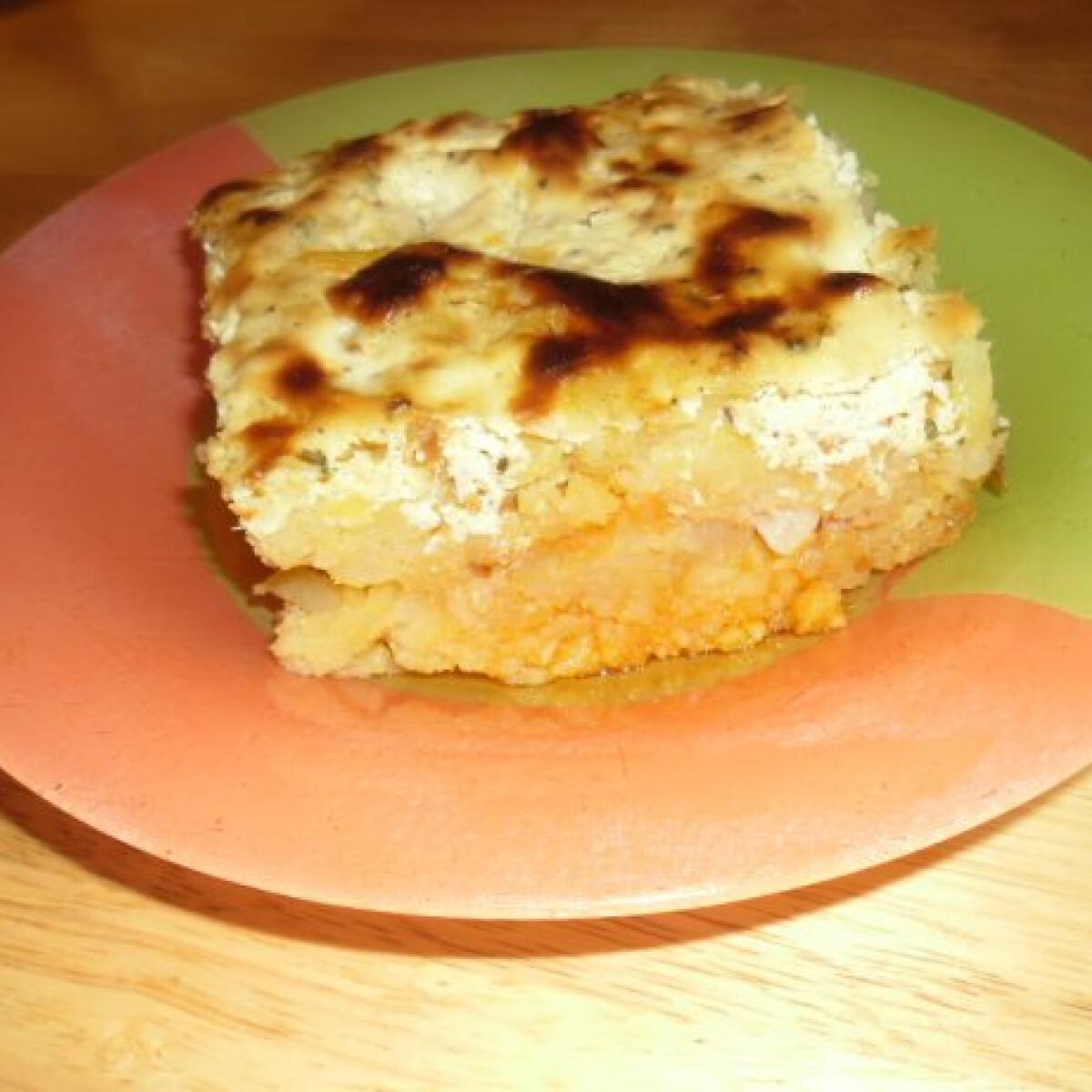 Réteges krumpli helena konyhájából