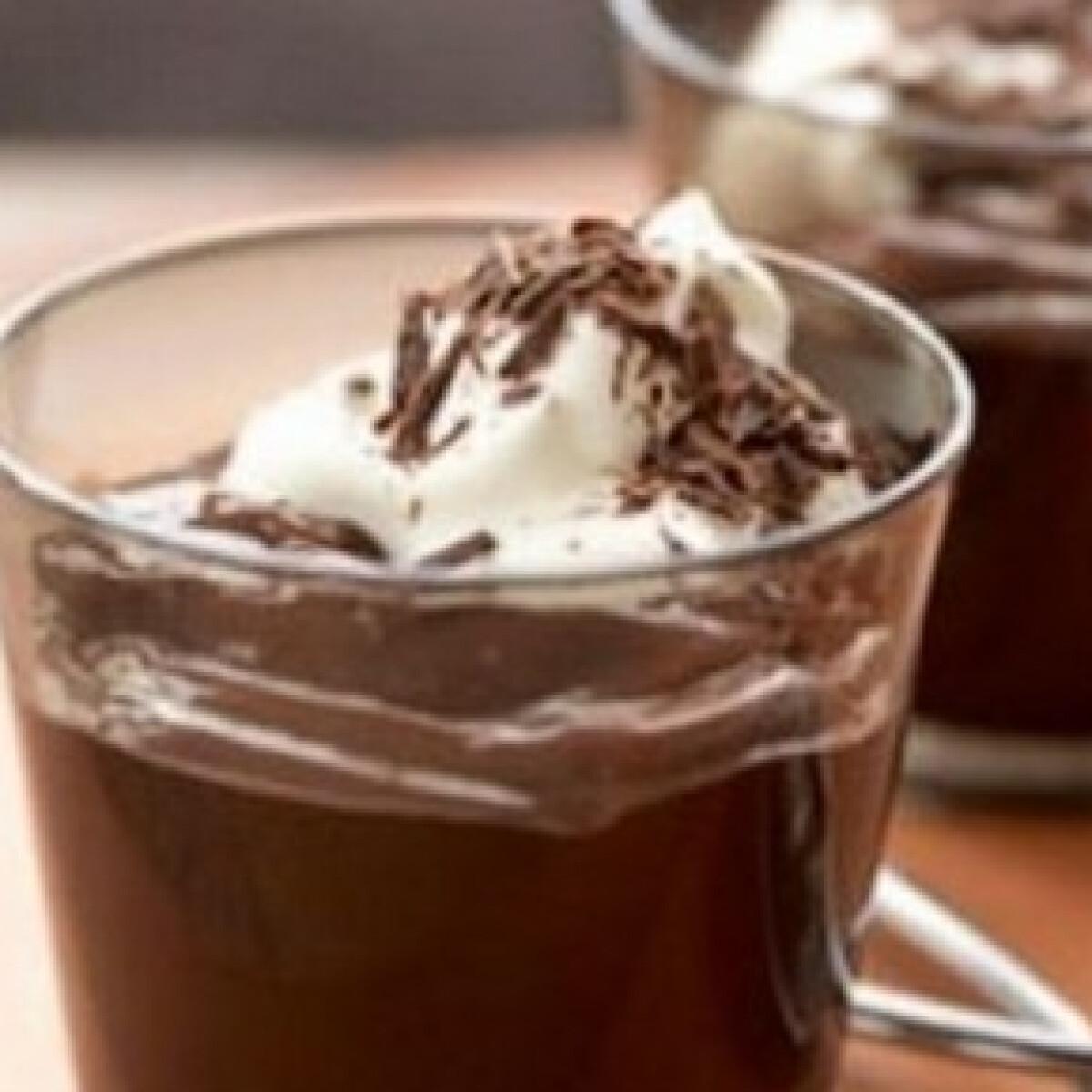 Ezen a képen: Csokipuding tea