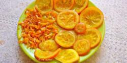 Kandírozott narancs Évi nénitől