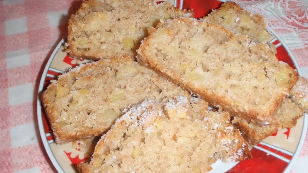 Évi mama kókuszos almás kenyere