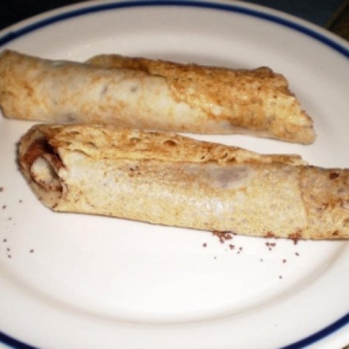 Ezen a képen: Gluténmentes palacsinta Midna konyhájából