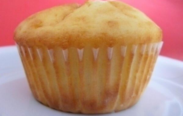 Túrós-citromos muffin