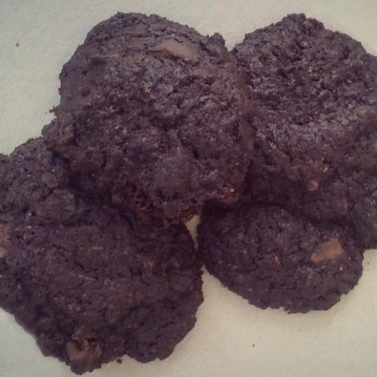 Csokoládés keksztallér