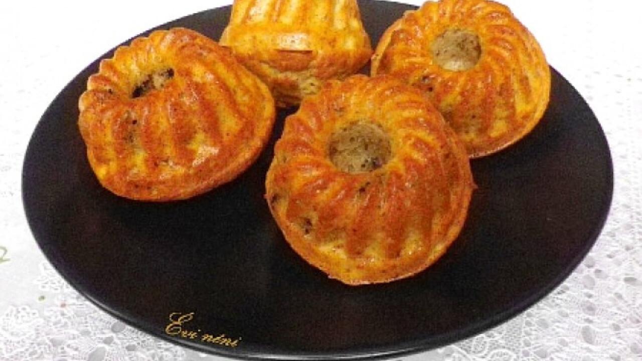 Banános-csokis muffin Évi nénitől