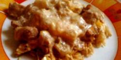 Spárgás csirkemell