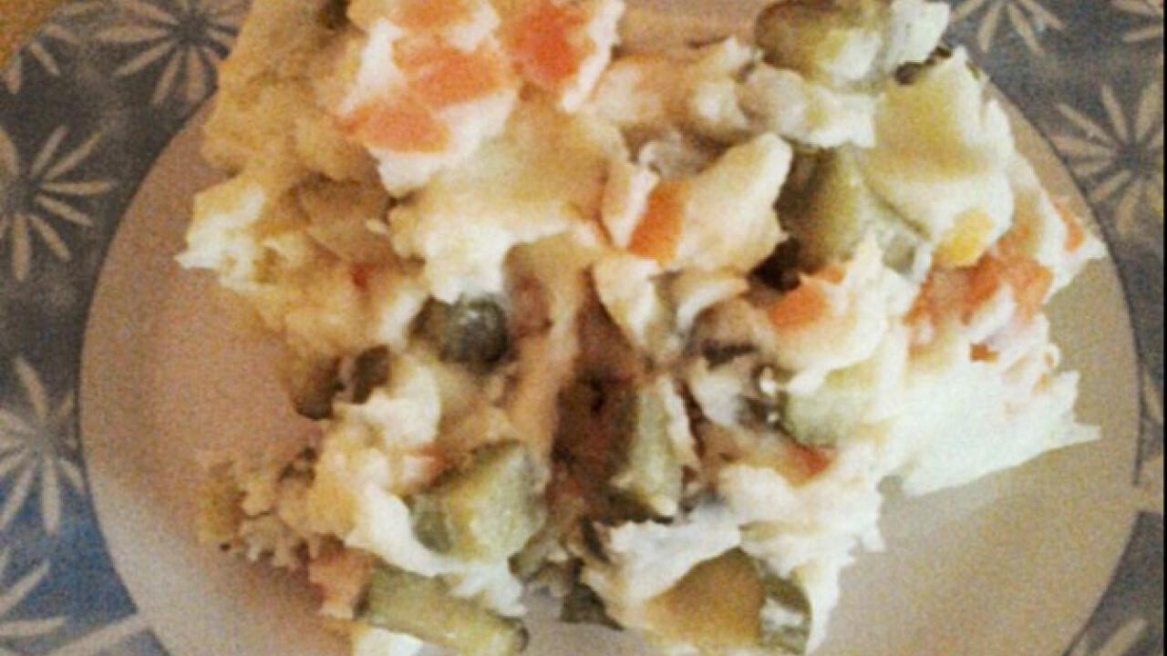 Majonézes krumplipüré