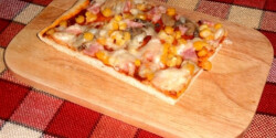 Villámgyors pizza Sziporka konyhájából