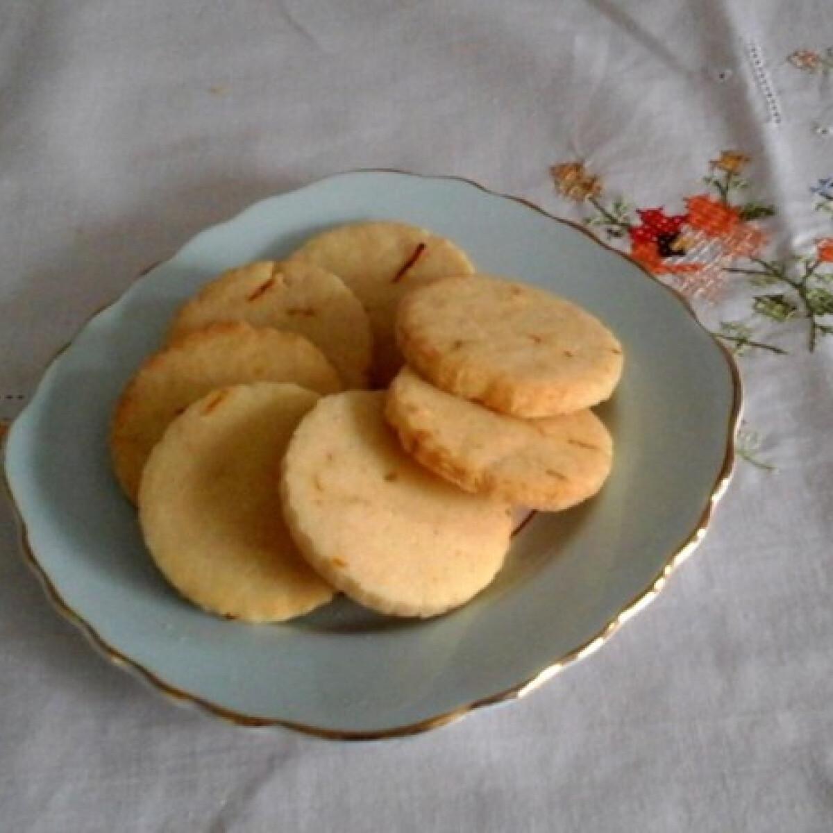 Ezen a képen: Gluténmentes libazsíros cookie narancshéjjal