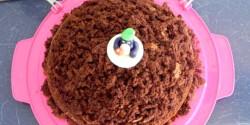 Vakondtúrás torta Nyuszimusz konyhájából