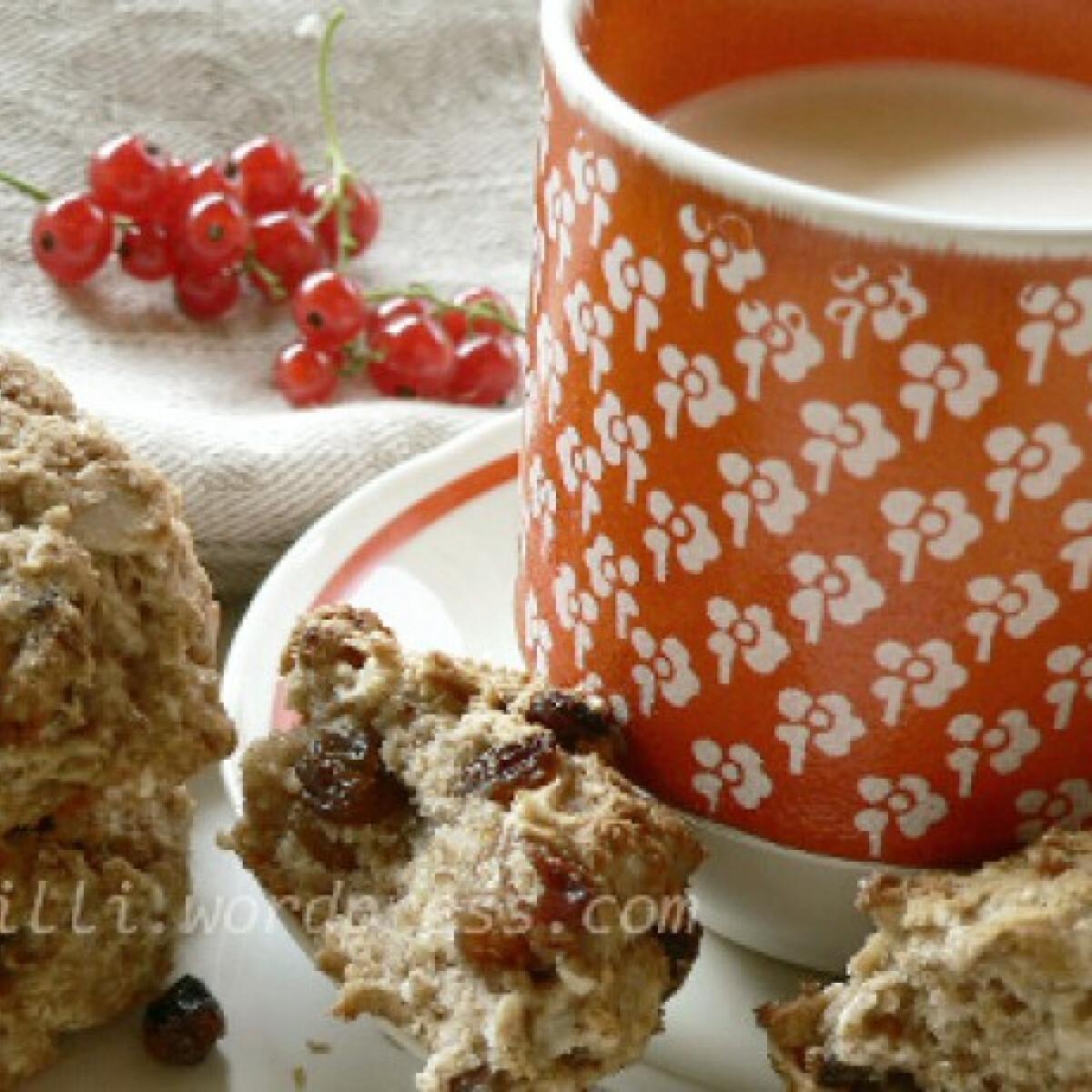 Ezen a képen: Zabkeksz reggelire