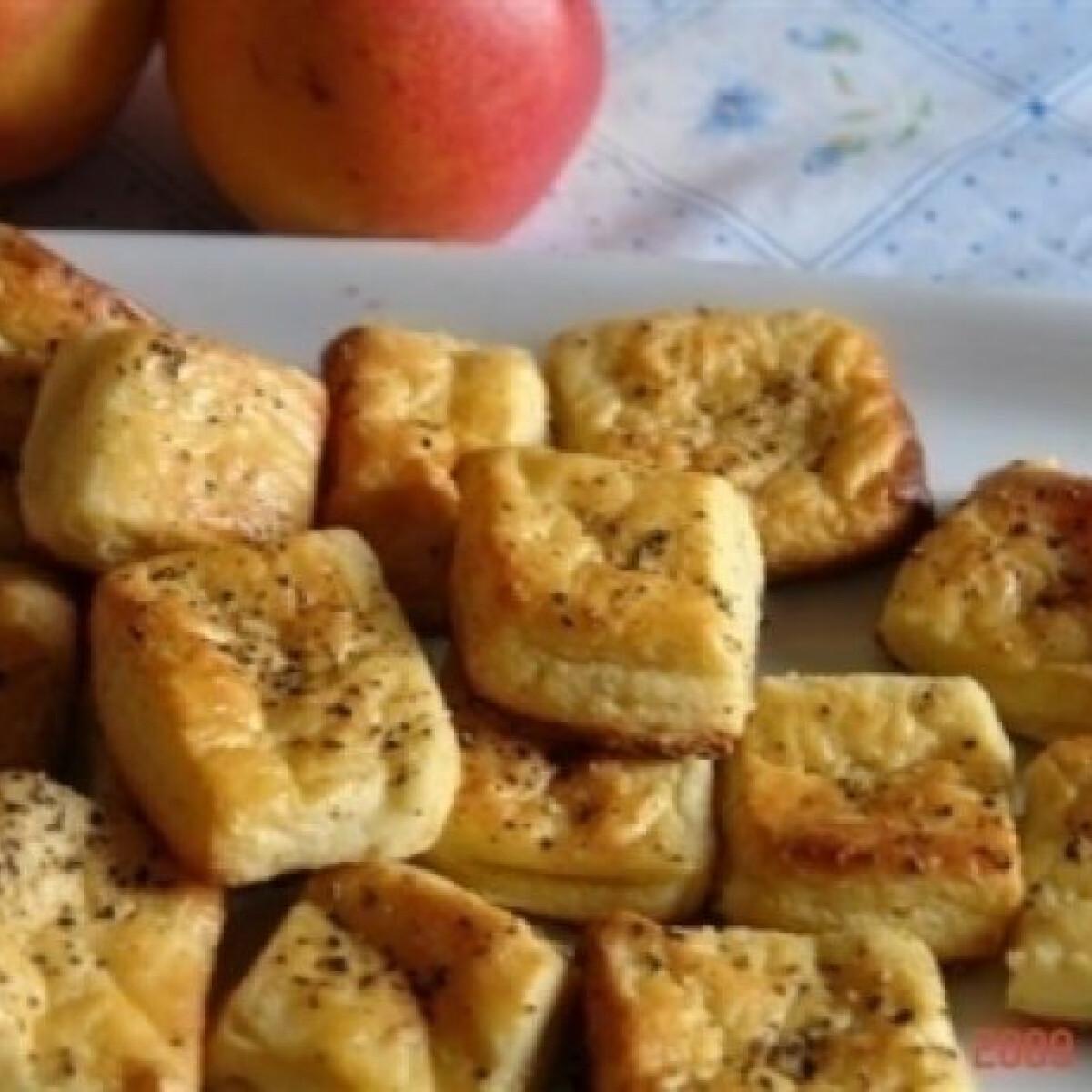 Krumplis pogácsa 3. (hajtogatott)