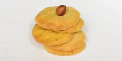 Olívaolajos-mogyorós keksz