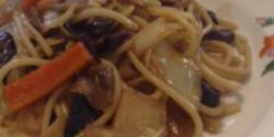 Az én kínai tésztám zöldségekkel
